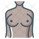 Mammography Female Boobs Icon