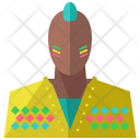 Colorful Man Avatar Icon