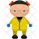 Safety Suit Man Icon