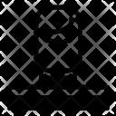 Striped Man Avatar Icon