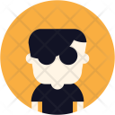 Sunglasses Man Avatar Icon