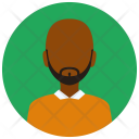 Beard Man Avatar Icon