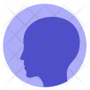 Human Head Man Icon