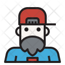 Man Hipster People Icon