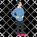 Man Avatar Cartoon Icon