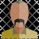 Old Profile Human Icon