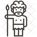 Man Worrior Spear Icon