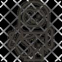 Man Stone Age Troglodyte Icon