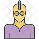 Punk Man Avatar Icon
