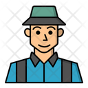 Character People Man Icon