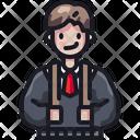 Man User Avatar Icon