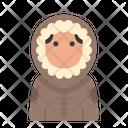 Winter Avatar User Profile People Man Eskimo Icon