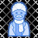 Winter Avatar User Profile People Man Elder Icon