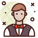 Man Casino Game Icon