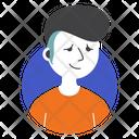Man Hair Punk Icon
