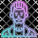 Man Senior Avatar Icon