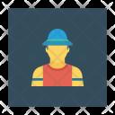 Man Labor Worker Icon