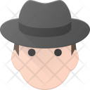 Man Male Hat Icon
