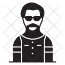 Man Actor User Icon