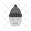 Man Winter Icon