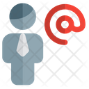Man Address Icon