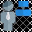 Man Align Center Icon
