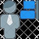 Man Align Right Icon