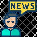 News Anchor Anchor User News User Icon