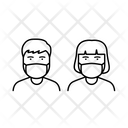 Covid 19 Pandemic Mask Icon