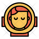 Man Astronauts Icon