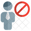 Man Banned Icon