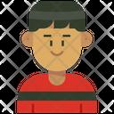 Man Bobcut Icon