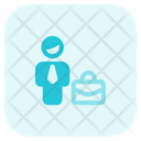 Man Briefcase Icon