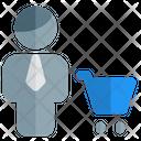 Man Cart Icon