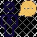 Man Chat Icon