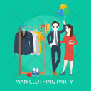 Man Clothing Party Icon