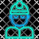 Man Engineer Icon