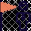 Man Flag Icon