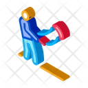 Man Kite Toy Icon