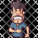 Man Having Pain Icon