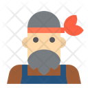 Man Hipster Icon