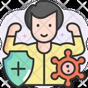Man Immunity Icon