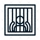Man in jail Icon