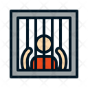 Man In Jail Jail Prisoner Icon