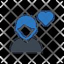 Love Heart Avatar Icon