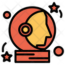 Astronaut Space Man Icon