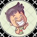 Man Laughing Icon