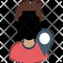 Man Location Icon