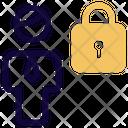 Man Locked Icon
