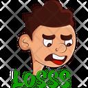Man Losses Icon